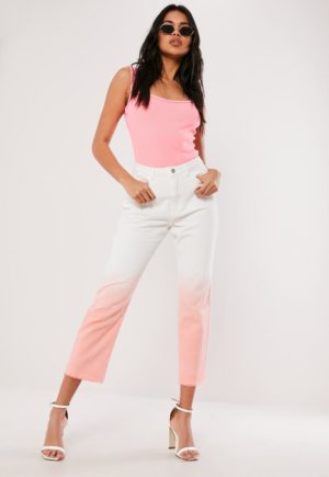 Pink ombre Jeans